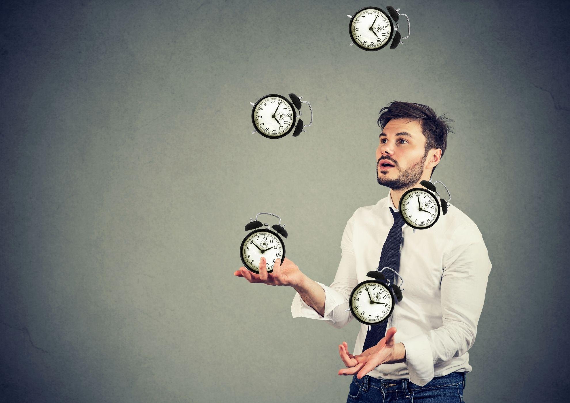 La importancia de saber gestionar nuestro tiempo