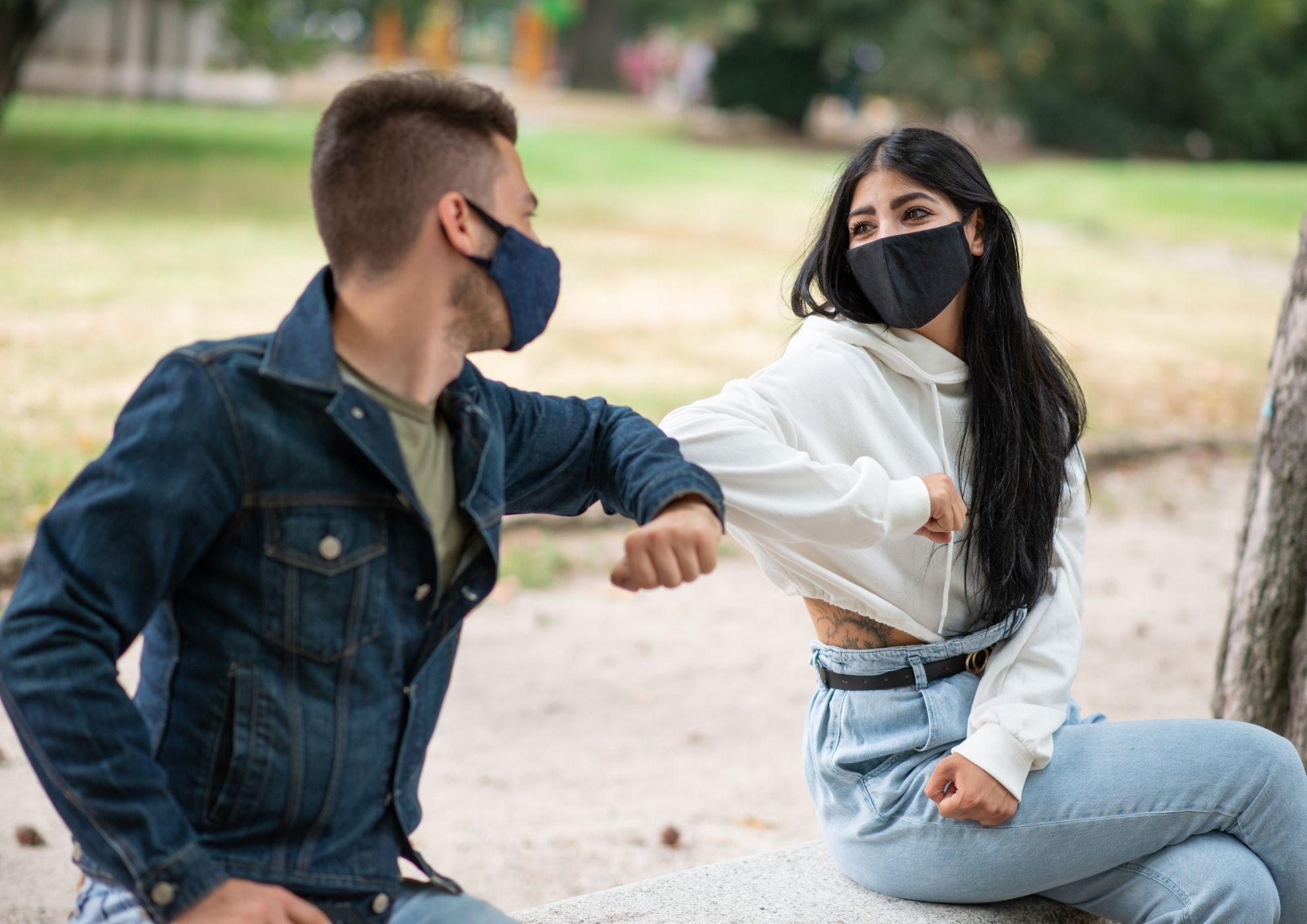 Jóvenes durante la pandemia
